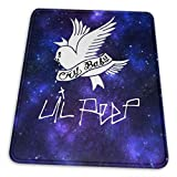 Skrr Lil Peep Mouse Pad Non Slip Computer Keyboard Mouse Mat Comfortable 7.9 X 9.5 in