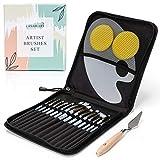 Professional Paint Brushes Set for Acrylic,...