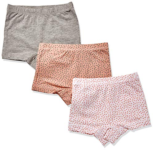 Name It Nmftights 3p Noos Bloomers, Multicolore (Rose Tan Rose Tan), 98 (Lot de 3) Bébé Fille