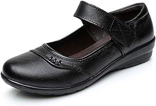 [GoldFlame-JP] パンプス 歩きやすい 軽量 甲ストラップ ベルト 滑り止め 安全 小足に見える キュート 婦人靴 シニアシューズ 仕事 通勤 カジュアル ウォーキング 快適 お出かけ ブラック
