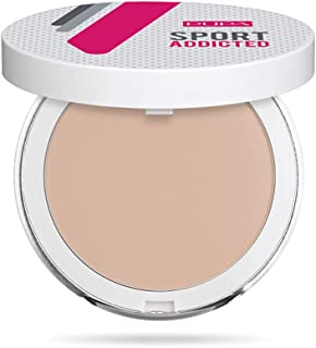 Pupa Milano Sport Addicted Sweat And Waterproof Compact Powder - Smooth and Even-Looking Complexion - Minimizes Small Impe...