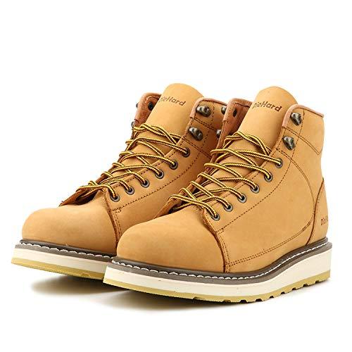 "DieHard Men's SureTrack 6"" Leather Soft Toe Work Boot (10.5) Brown"