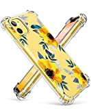 GVIEWIN für iPhone 11 Hülle Blumen Weiche Flexibele Schuzthülle TPU Shlanke Stoßfeste...