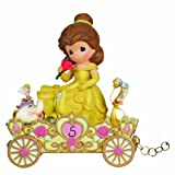 Precious Moments, Disney Showcase Collection, A Beauty To Behold At Five Years Old, Disney Birthday Parade, Age 5, Resin Figurine, 104407
