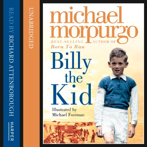 Billy the Kid audiobook cover art