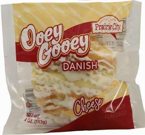 Prairie City Bakery Ooey Gooey Danish (Cheese, Pack of 6)