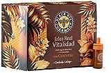 Black Bee Jalea Real Vitalidad, Complemento Alimenticio con Cúrcuma y 12 Vitaminas - 20 Ampollas