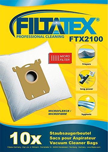 10 x FILTATEX sacs aspirateur alternative pour WPRO SB242MW / wpro sb 242mw - wpro sb242mw