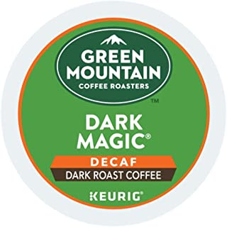 Green Mountain Coffee Roasters Dark Magic Decaf single serve K-Cup pods for Keurig brewers, 24 Count