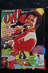 OK ! âge tendre 472 JANVIER 1985 COVER MICHAEL JACKSON SOPHIE MARCEAU CYNDI LAUPER AXEL BAUER