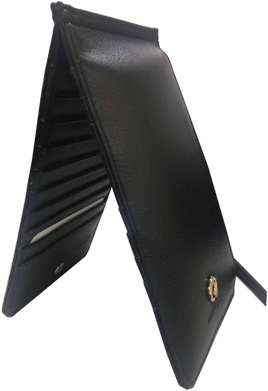 Womens Walllet Blocking Bifold Multi Card Case Wallet with Zipper Pocket
