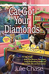 Cat Mystery books - Cat Got Your Diamonds