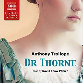 Dr Thorne audiobook cover art
