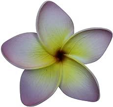 Hawaii Luau Party Dance Artificial Foam Plumeria Hair Clip