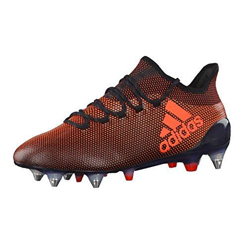 adidas adidas Herren X 17.1 SG Fußballschuhe, Schwarz (Negbas/Rojsol/Narsol), 41 1/3 EU