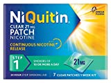 NiQuitin 21mg Clear 24 Hour 7 Patches Step 1 (Pack of 4)