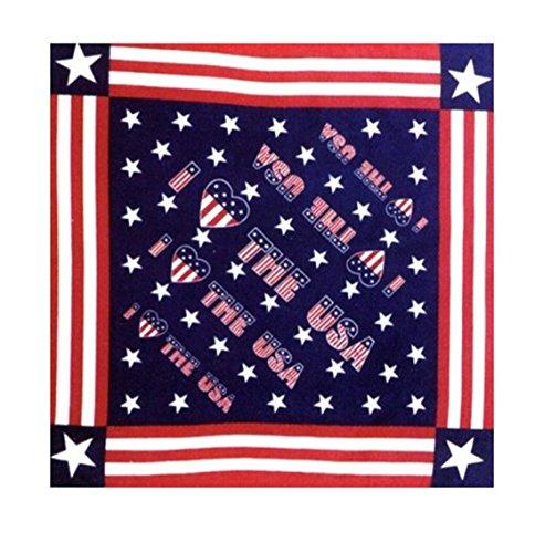 Bandana bandera de Estados Unidos, máscara para moto, scooter, airsoft y paintball
