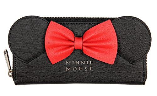 Loungefly Disney Portemonnaie Geldbörse Portmonee Minnie mouse mit Schleife