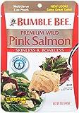 Bumble Bee Premium Skinless & Boneless Wild Pink Salmon, 5oz Pouch