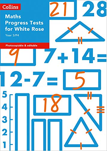Year 3/P4 Maths Progress Tests for White Rose (Collins Tests & Assessment)