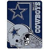 Northwest Dallas Cowboys Blanket XXL 62x90 NFL Bedding Lighter Weight