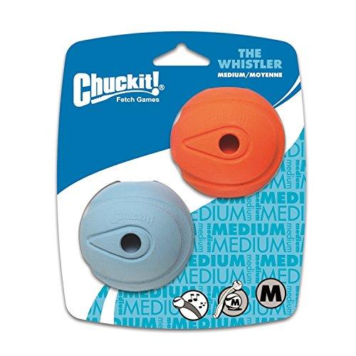 Chuckit! - Whistler-Hundeball, mittelgroß, 2 Stück