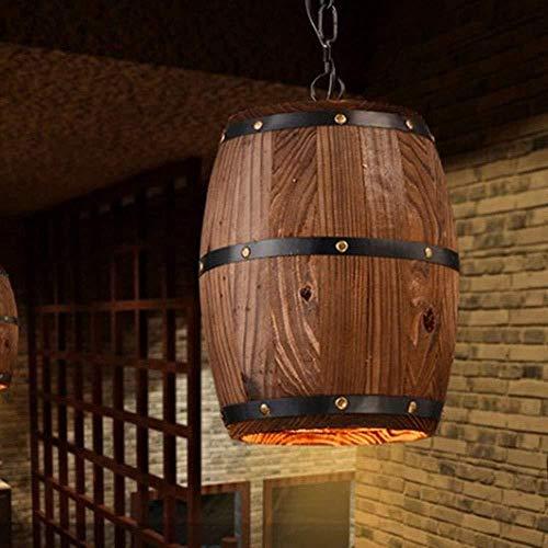 Lampadario A forma di ramo rustico in legno massello ramo sala da pranzo soggiorno camera da letto studio antico botte di legno botte di vino