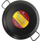 Garcima 16-Inch Enameled Steel Paella Pan, 40cm, Medium, Black...