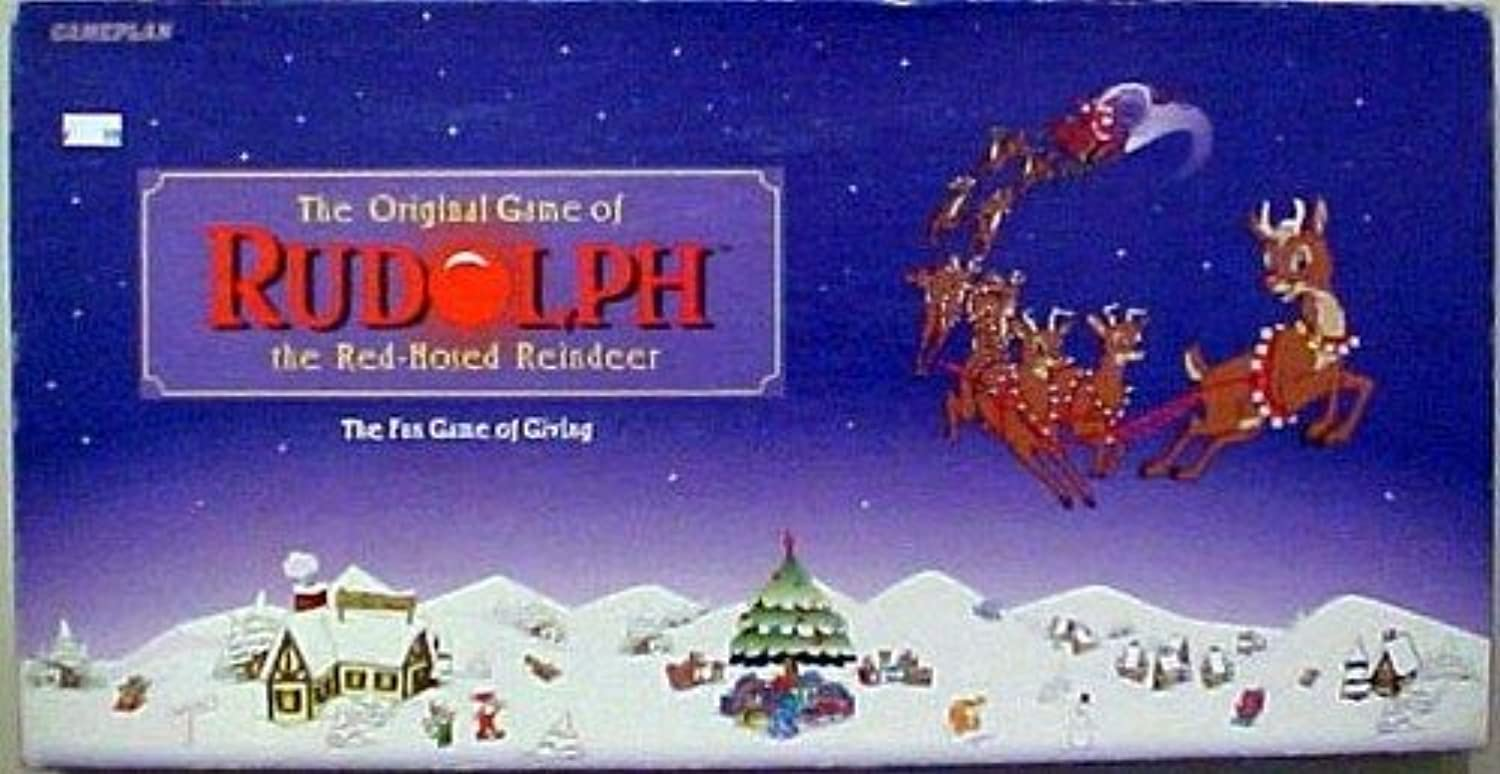 The Original Game of Rudolph the rot-Nosed Reindeer; the Fun Game of Giving by Gameplan by Gameplan