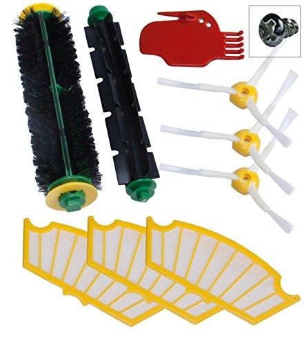 Wartungskit für die iRobot Roomba Serie 500 Seitenbürsten Filter 510 520 530 531 532 537 540 550 560 570 580 verkauft von SchwabMarken