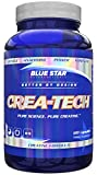 CreaTech Buffered Creatine Capsules: 3 Grams Creapure Buffered Creatine Monohydrate - Creatine Pills that Build Muscle and Increase Strength, With Electrolytes for Less Water Retention, 120 Capsules