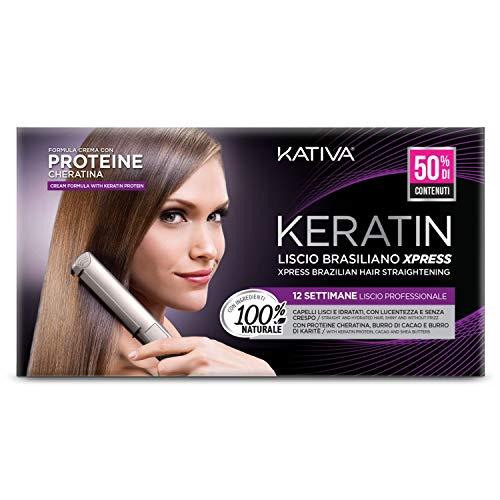 Kit Trattamento Kativa Xpress + Keratina Liquida. Nuova Confezione: 2 Prodotti in 1