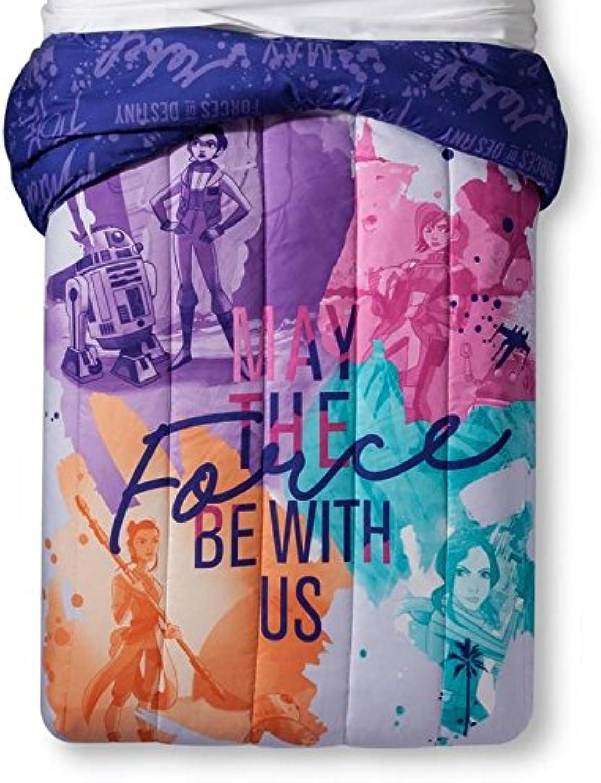 Forces Star Wars Girls Of Destiny Purple Bedding Set (Comforter and Sheets)