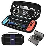 Cubierta para Nintendo Switch - Estuche portátil TUXWANG EVA con Banda elástica Plegable.Adecuado para Cassettes de Juegos y Otros Accesorios de Cambio de Nintendo