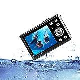 HG8011 Appareil Photo numérique étanche/ 12 MP/ 1080P FHD/ 2,31' Écran LCD TFT/Appareil Photo sous-Marin pour...