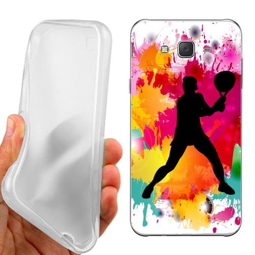 Custodia Cover Case Tennis Maschile per Samsung Galaxy J5