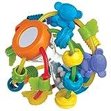 Playgro-40137 Pelota Alfombras de Juego y gimnasios, Color Azul, Naranja, Verde, Lila, Amarillo (40137)