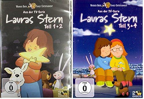Lauras Stern - Teil 1+2+3+4 * 2 x 2 DVDs