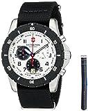 Victorinox 241680.1del Hombre Negro Reloj de Cuarzo analógica Swiss