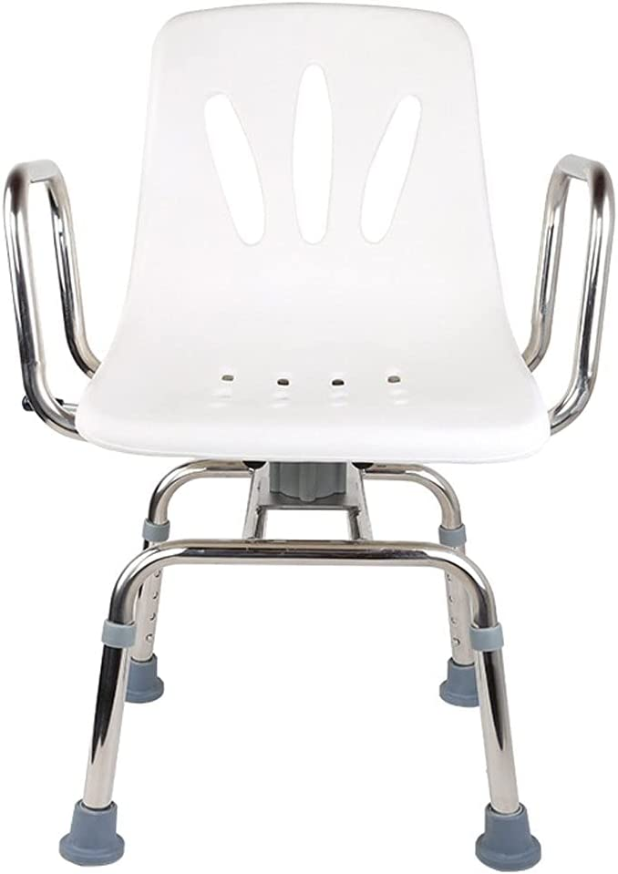 Max 77% OFF ZQYYUNDING Shower Chair Popularity BenchStool Stainless Rotating Sh