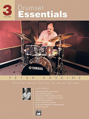 Drumset Essentials, Vol 3: Book & CD