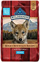 Blue Buffalo Wilderness Rocky Mountain Recipe High Protein, Natural Puppy Dry Dog Food, Red Meat 22-lb