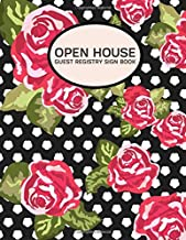Open House Guest Registry Sign Book: Open House Listing Registry Sign-In Guest Book, Visitor's Signature, Prospects Guest Notebook Journal, Gifts for ... Architects, 110 Pages (Open House Supplies)