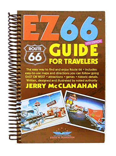 Route 66: EZ66 GUIDE For Travelers - 4TH EDITION by Jerry McClanahan (2015-10-30)