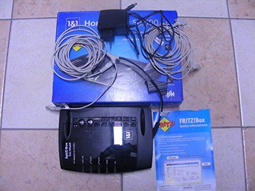AVM FRITZ!Box Fon 7390 draadloze router, zwart