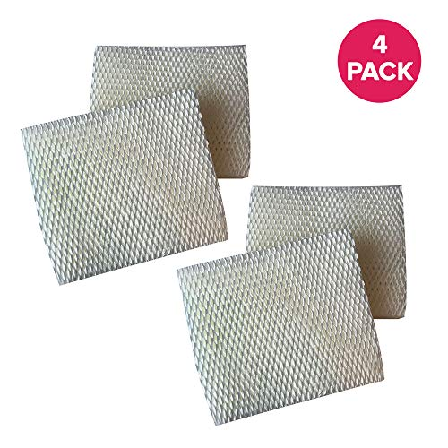 Think Crucial Replacement Wick Humidifier Filters Compatible with Vornado Evaporative Models Evap3, Evap1, Model 30, Model 50 Fits Part # MD1-0001 MD1-0002 – Bulk (4 Pack)
