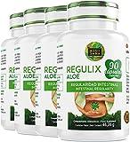 Regulix Aloe -Aquisana | Ayuda a favorecer una buena digestión | Pérdida de Peso |- Libre de alérgenos- 360 Cápsulas