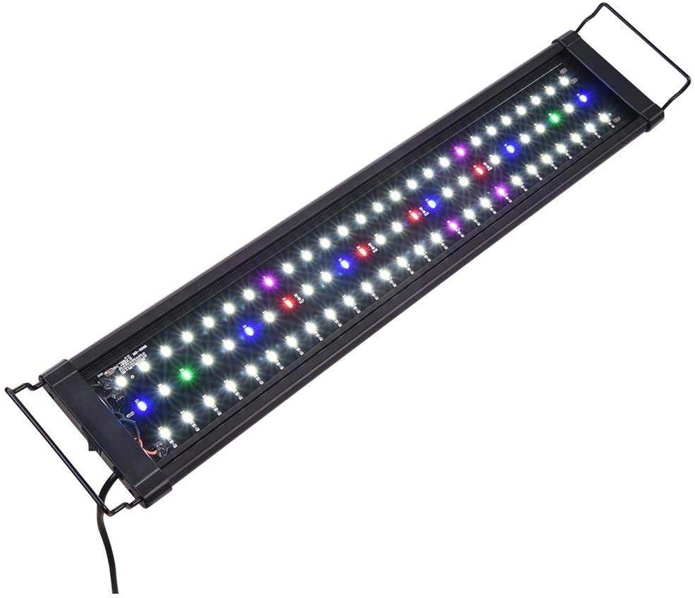 24 Indefinitely to 30 Inches 78 Bright LED w Mail order Aquarium Fish Lighting Colors 5