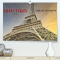 Eiffelturm - Ikone der Architektur (Premium, hochwertiger DIN A2 Wandkalender 2022, Kunstdruck in Hochglanz): Er gehoert zu den meistbesuchten Wahrzeichen der Welt und war von 1889 bis 1930 das hoechste Bauwerk. (Monatskalender, 14 Seiten )