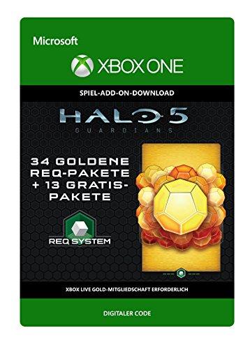 Halo 5: Guardians: 34 Gold REQ Packs + 13 Gratis [Spielerweiterung] [Xbox One - Download Code]